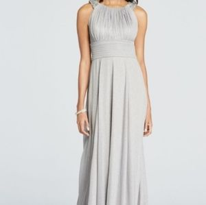 Cachet Dress From David's Bridal/Silver